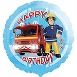 Fireman Sam Balloon - 18'' Foil
