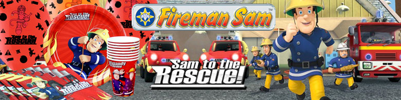 Fireman Sam Cake Decorations Tesco : Fireman Sam Party Supplies Party Delights