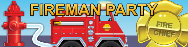 Fireman Party Supplies
