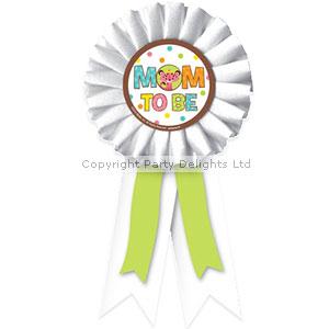 baby shower award ribbon