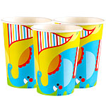 Circus Cups - 255ml Paper Party Cups