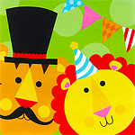 Circus Napkins - 2ply Paper