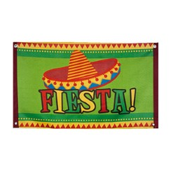 Fiesta Flag - 90cm Mexican Decoration