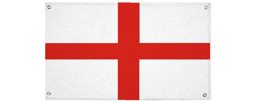 Giant England Cloth Flag - 2.7m