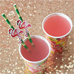 Flamingo Fun Straws