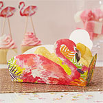 Flamingo Fun Treat Tray - 17cm