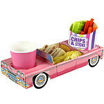 Pink Cadillac Combi Food Tray - 29cm long