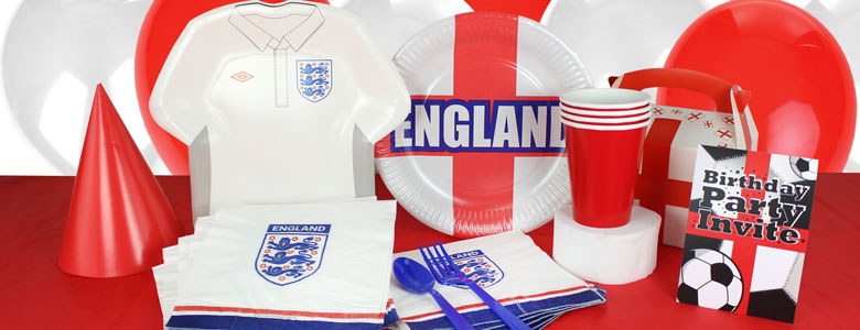 England Football Party Supplies