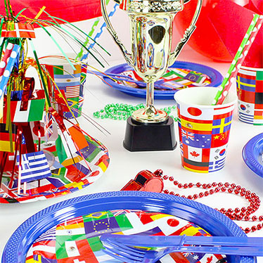 International party country themes party delights for International party decor