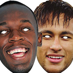 Sports Star Masks