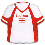 "England Football Shirt Shaped Balloon - 22"" Foil"