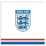 England Football Luncheon Napkins -  33cm