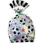 Football Cellophane Party Bags