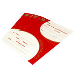 Arsenal FC Party Invitation Pad