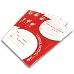 Liverpool FC Party Invitation Pad