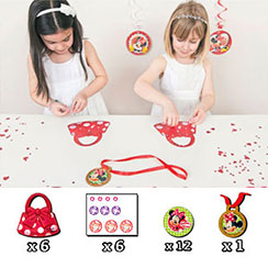 Minnie Mouse Party Game - Decorate Minnie's Handbag