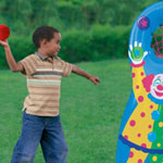 Inflatable Ball Toss Game