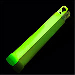 Green Glow Sticks - 6""