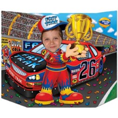 Racing Car Driver Photo Prop - 64cm