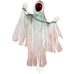 Faceless Spectre with movement and sound - 90cm