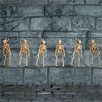 Hanging Skeleton Garland 5ft