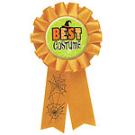 Halloween Party Halloween Best Costume Award Ribbon