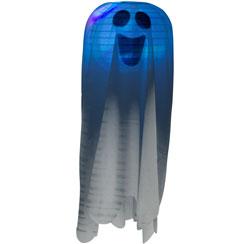 Light Up Hanging Ghost - 45.7cm