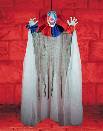 Light Up Moving Clown - 1.5m Halloween Prop