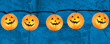 Pumpkin Halloween Lantern Lights - 2.3m