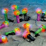 Mini Spinning Halloween Light - 11cm