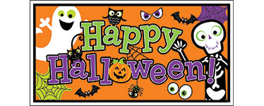 Personalised Halloween Banners | Party Delights