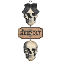 Boneyard Keep Out Sign - 48cm
