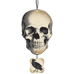 Boneyard Skull Sign - 44cm