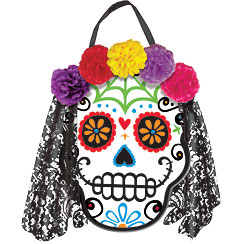 day of the dead sign 30cm - Day Of The Dead Halloween Decorations