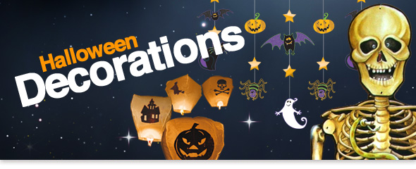 Halloween Party Decorations Create a spooky setting, with our halloween d�cor. Decorations, lights, props and more!