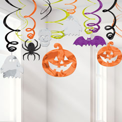 Family Friendly Hanging Swirls- 61cm