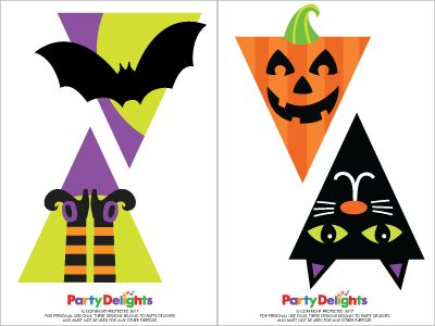 photo regarding Free Printable Halloween known as Absolutely free Printable Halloween Bunting