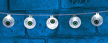 Eyeball Halloween Lights - 1.2m