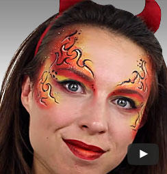 halloween makeup tutorials � easy halloween face paint