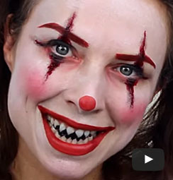 Halloween Make Up Tutorials Easy Halloween Face Paint