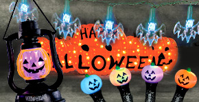 Halloween Indoor and Outdoor Lights