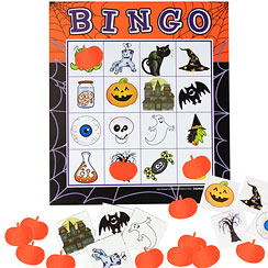 Halloween Game - Batty Bingo