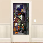 Witch Bathroom Door Cover