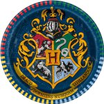 Harry Potter Plates - 17cm Paper Party Plates