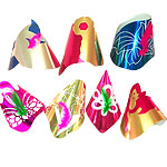 Foil Design Party Hat - Assorted