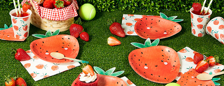Strawberry Summer Party Supplies