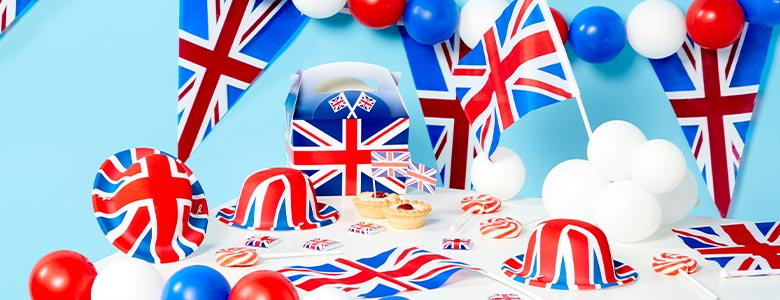 Union Jack Party Supplies