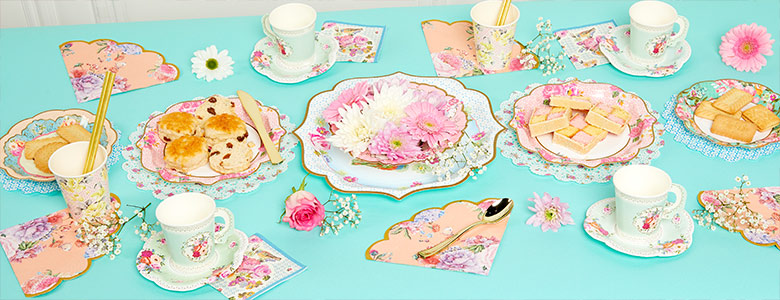 Truly Scrumptious Vintage Tea Party Supplies