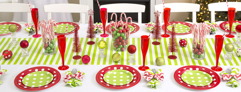 Christmas Plain Colour Tableware