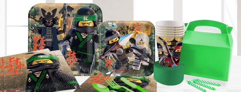 lego ninjago party supplies - Lego Ninja Go